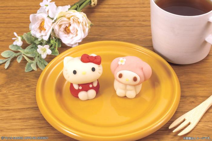 マイメロディがキュートな和菓子『食べマス』に初登場♪ハローキティと仲良くローソンで発売☆