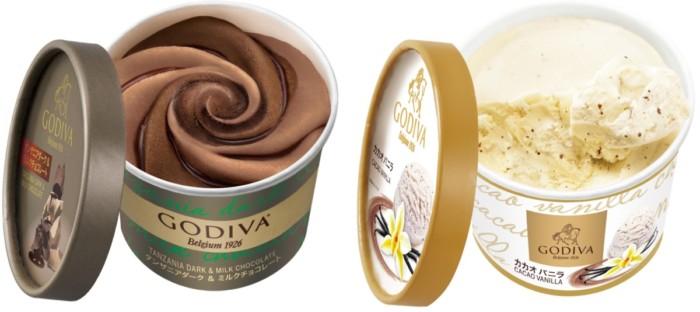 コンビニで買える、ちょっと贅沢なアイスクリーム♡ゴディバの上質なチョコレートの味わい楽しめるカップアイスに新フレーバー登場!