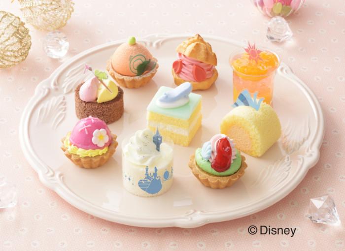 ひなまつりにはディズニープリンセスと一緒に乙女なスイーツタイムを♡銀座コージーコーナーの春色プチケーキセット♪