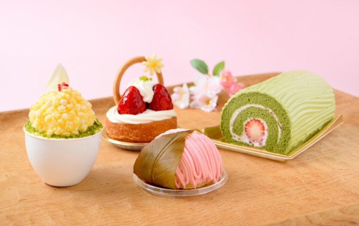 春の訪れをイメージした華やかスイーツたち☆和菓子好きも喜ぶ桜餅をイメージしたモンブランも♪コロンバンの春スイーツ!