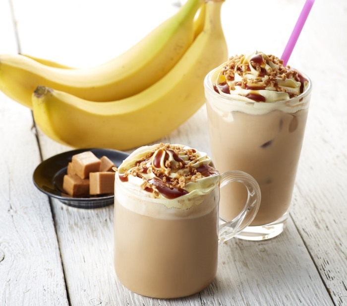 タリーズ バナナキャラメルクランチラテ
