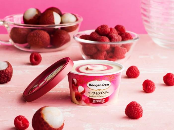 ライチの華やかな香り広がる春の味わい♡爽やかな甘さを堪能するハーゲンダッツ ミニカップ『ライチ&ラズベリー』
