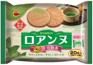 ブルボン 抹茶フェア 20枚ロアンヌ宇治抹茶