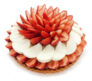 カフェコムサ いちごとパンナコッタのケーキ
