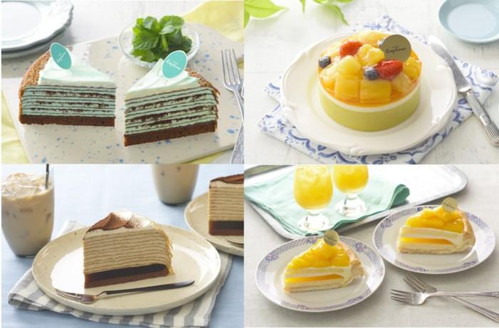 夏のミルクレープにフルーツたっぷりなケーキもたくさん登場!初夏の銀座コージーコーナーは夏に食べたいスイーツがいっぱい♡