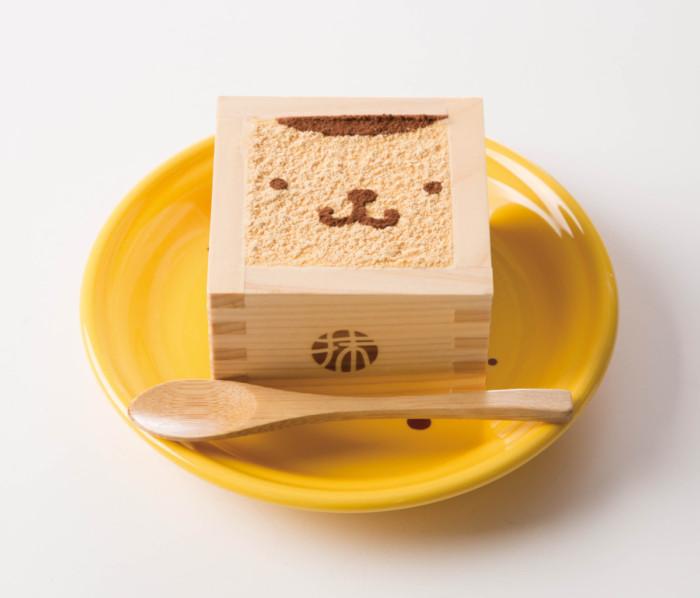 枡に入った上品なサンリオの和スイーツ♡「ポムポムプリンカフェ」と「MACCHA HOUSE 抹茶館」の可愛いコラボレーション☆