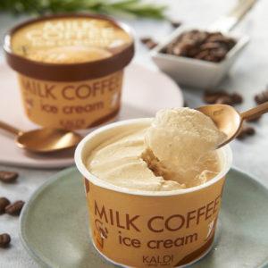 カルディコーヒーファーム オリジナル ミルクコーヒーアイス