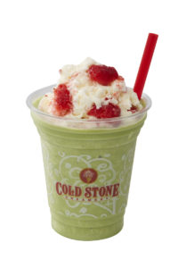 コールドストーン COOLLY'S 『グリーンティー ストロベリー ミルク』