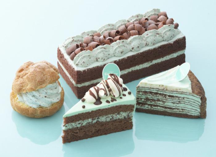 甘くて爽やかなチョコミント味☆見た目もブルーで涼しげな、銀座コージーコーナーのチョコミントスイーツ♪