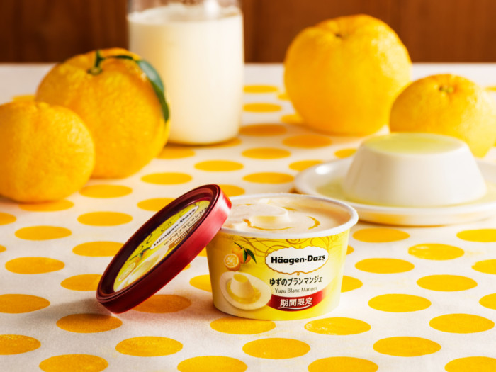 夏に優しいゆずの味♡ミルクと合わせて爽やかだけどクリーミー!ハーゲンダッツ ミニカップ『ゆずのブランマンジェ』