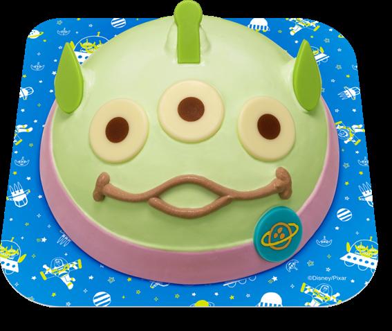 """『トイ・ストーリー4』公開目前に登場!人気キャラクター""""エイリアン""""のアイスクリームケーキがサーティワンにやってきた☆"""