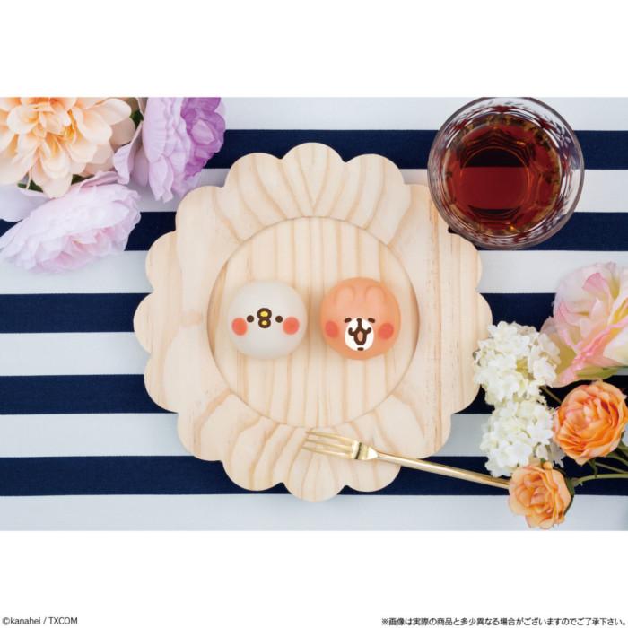 """LINEスタンプで人気のカナヘイ""""ピスケ&うさぎ""""をモチーフにした和菓子がローソンに☆表情の種類も豊富で楽しい「食べマスモッチ」"""