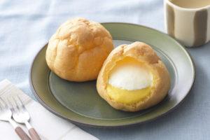 銀座コージーコーナー ジャンボシュークリーム(濃いかぼちゃ&ホイップ)