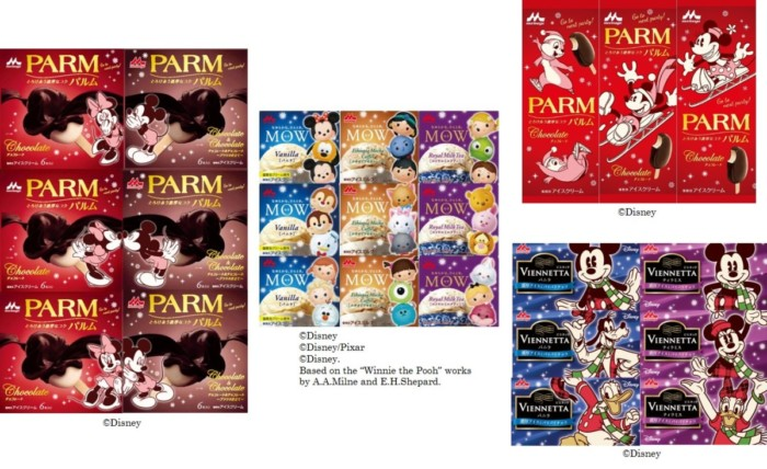 ディズニーデザインのアイスが冬を彩る♪森永乳業のアイス3商品が「ディズニーウィンターパッケージ」に大変身☆