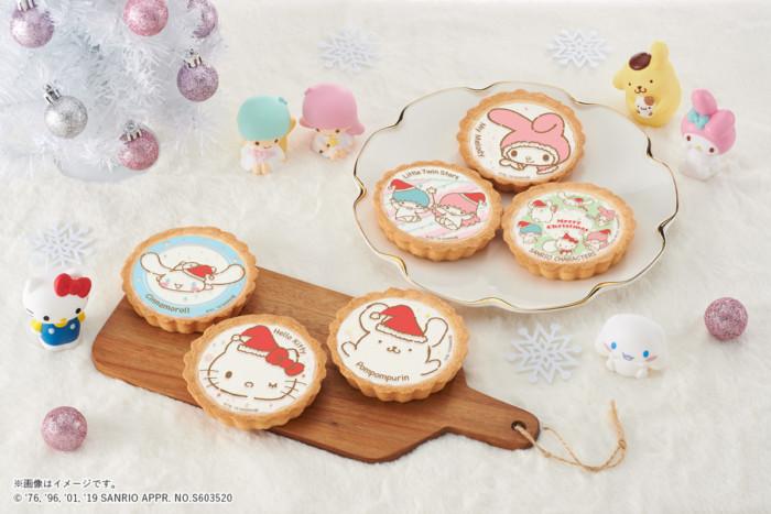 サンリオの可愛いクリスマスタルトがイオンに登場!たくさんのデザインを揃えて、パーティーに差し入れに活躍間違いなし☆