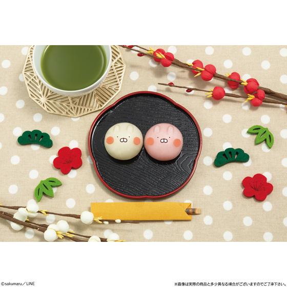 """LINEスタンプで大人気の""""うさまる""""が和菓子に大変身!年末年始にこたつに入ってのんびり楽しみたいモチモチ和菓子☆"""