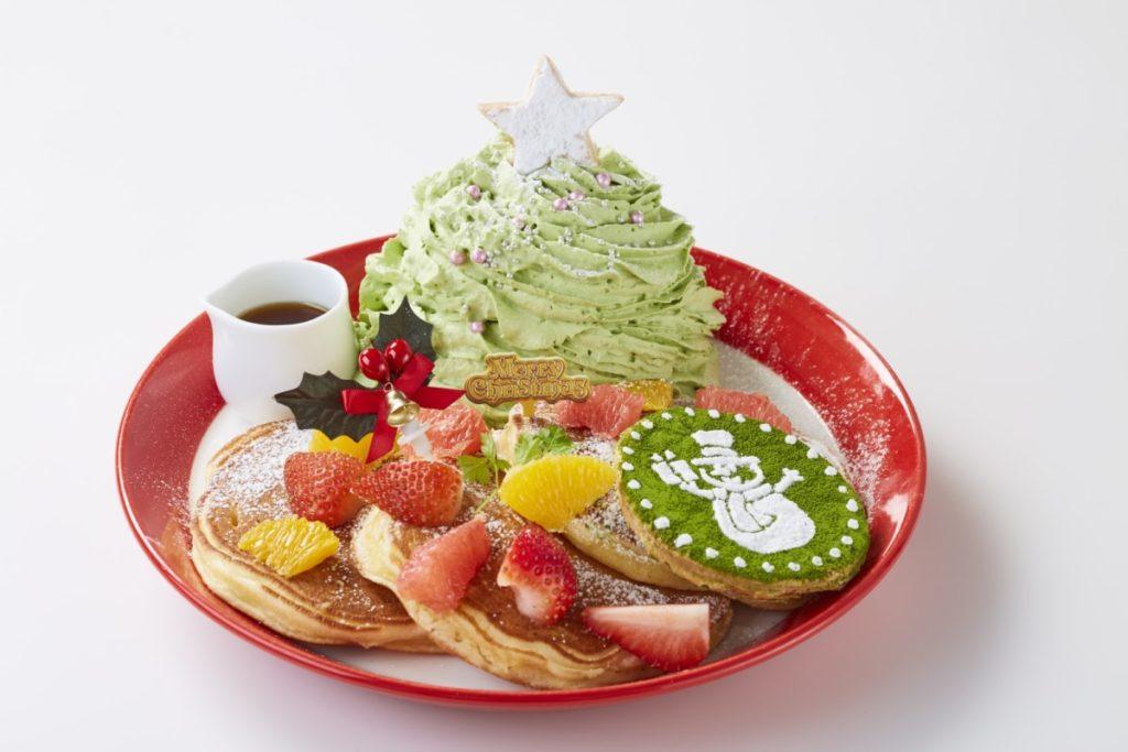 パンケーキ専門店『Butter(バター)』 ミックスフルーツのグリーンマウンテンパンケーキ