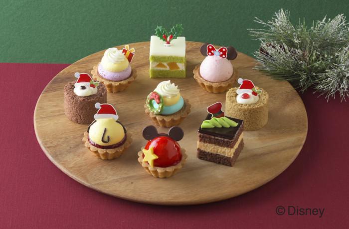 ハッピーツムツムクリスマス☆家族と、友達と、恋人と!みんなで食べたいディズニーツムツムプチケーキセット♪