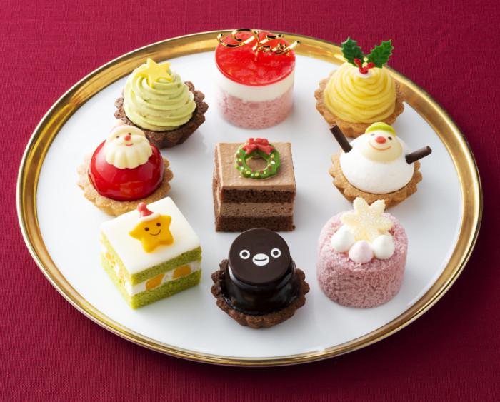 Suicaペンギンがいるプチケーキセットはグランスタ店だけ!銀座コージーコーナーのクリスマスプチケーキセット☆