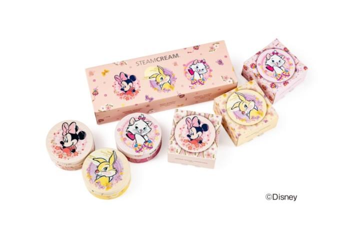 冬の乾燥に負けないで!バッグに常備したい可愛いアイテム♡「スチームクリーム」からミニーマウスやマリーデザインのmini缶登場!