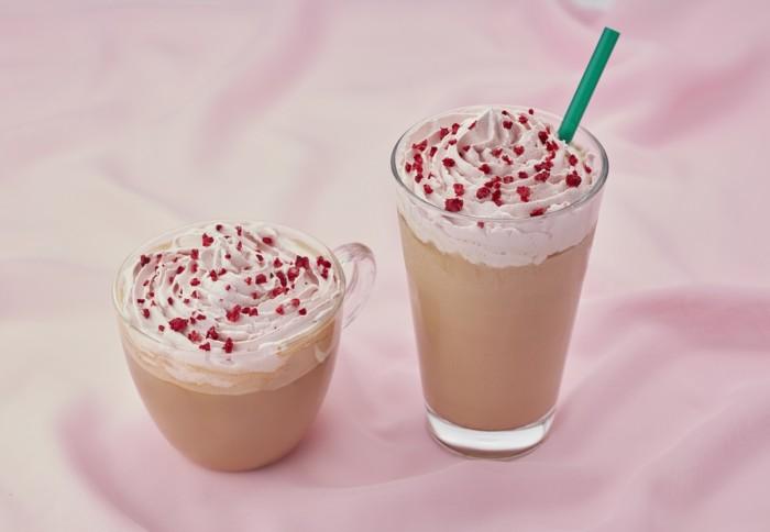 バレンタインシーズンにはときめくようなカフェタイム♡初のルビーチョコレートを使用したタリーズの期間限定ドリンクは華やかな美味しさ♪