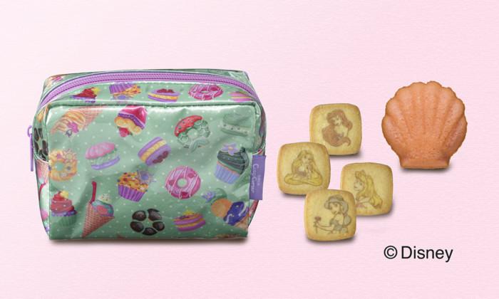 ディズニープリンセスがプリントされたクッキーを缶やポーチに詰め合わせて♡銀座コージーコーナーの期間限定ギフト!