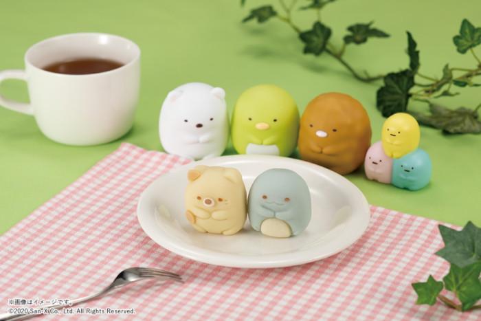 """大好評のすみっコぐらし和菓子がファミマに登場☆今度は""""ねこ""""と""""とかげ""""が和菓子になっちゃいました♡"""